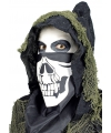 Skelet bandana masker