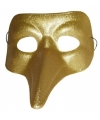 Snavel masker goud