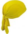 Sport bandana volwassen geel