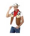 Toppers cowboy verkleed set voor heren