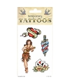 Traditionele tattoos 4 stuks