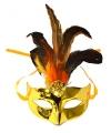 Venetiaanse masker goud metallic