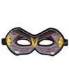 Vleermuis oogmasker zwart voor kinderen