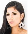 Voetbal oorbellen