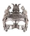 Warrior oogmasker zilver