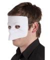 Wit grimeer bauta masker