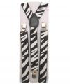 Zebra bretels voor volwassenen