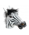 Zebra masker
