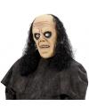 Zombie met pruik masker voor volwassenen