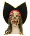 Zombie piraat masker