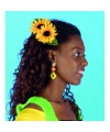 Zonnebloem haarclip