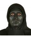 Zwart effen masker