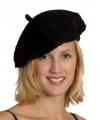 Zwarte franse baret