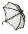 Zwarte kanten bydemeyer paraplu
