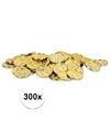 300 x gouden schatkist munten