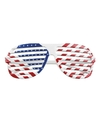 Amerika lamellen verkleed thema bril
