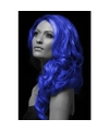 Carnaval haarverf blauw