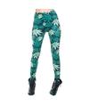 Dames party legging cannabis print