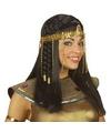 Egyptische hoofdband met gouden kralen