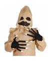 Halloween horror handschoenen met lange vingers
