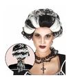 Halloween markies vampier dracula damespruik