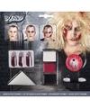 Halloween zombie schminkset met bloed capsules