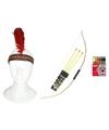 Indianen accessoire set voor volwassenen