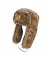 Pelsjager bruine verkleed muts voor volwassenen