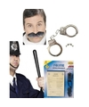 Politie accessoires verkleedset voor volwassenen