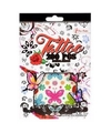 Stickervellen tattoo 280 stuks type girl