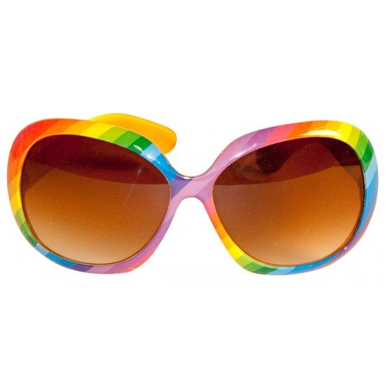 e23f9b0f868251 Hawaii bril regenboog - Verkleedkleding shop  voor al uw ...