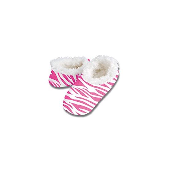 d0f736f6093 Sloffen met roze zebraprint - Verkleedkleding shop: voor al uw ...