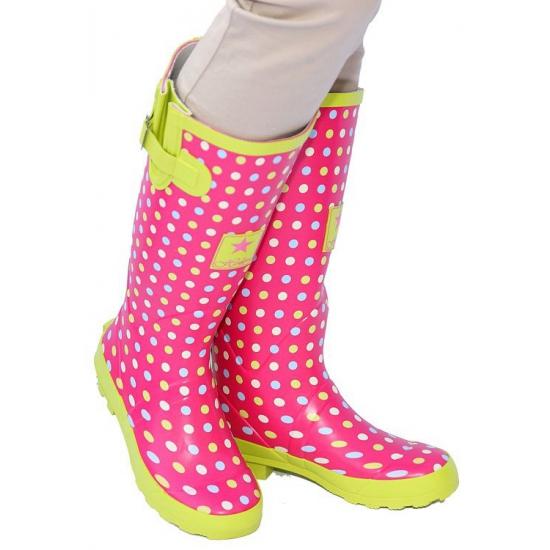 Glimmende roze party laarzen en nog veel meer roze artikelen